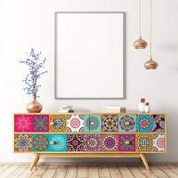 Selbstklebende Möbelsticker   Selbstklebender Fliesenaufkleber – Dekoration für Tische Schränke Kommoden Regale   40 x 60 cm