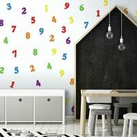 RoomMates 54213 Zahlen Bunt
