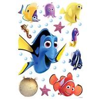Wandtattoo Findet Dorie Blau Gelb und Orange - 600113 - von Disney
