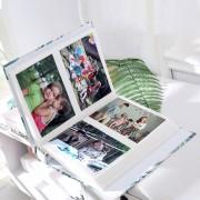 4D Große 6 Zoll Foto Album 100 Blätter Sammelalbum Papier Baby Familie Scrapbooking Alben Hochzeit Foto DIY Handwerk Fotoalben