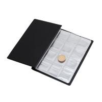 Sammeln Geld Organizer 120 Taschen Münzen Sammlung Album Buch für Sammler Münze Halter Alben Mini Penny Münze Lagerung Tasche Fotoalben