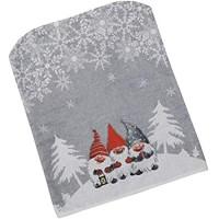 Toyvian Weihnachten Stuhlbezug Stuhl Rückenlehne Husse Weihnachten Wichtel Zwerg Grau Stuhlabdeckung Esszimmerstühle Beschützer Party Zuhause Restaurant Esszimmer Dekoration Weihnachtsdeko