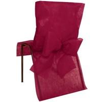 cama24com Stuhlhussen Vlies Bordeaux Einweghussen für Hochzeit Party und Event 10 Stück Palandi®