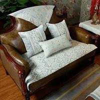 FEIZIAmerican Country Sofa Matte pastoral Sofa Set arm rückenlehne Handtuch-A 70x150cm28x59inch