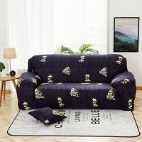 QINQIN Pflanze Blumen Sofabezug Anti-rutsch All-Inclusive-Vier Jahreszeiten universal Sofabezug Stretch Haut Pflege Sofa Handtuch-I 90-140cm