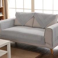 QY&LA Vier Jahreszeiten universal sofabezug Dick Anti-rutsch Wohnzimmer Aus Stoff Slipcover Einfache Moderne Sofabezug Handtuch-B 90X150cm35x59inch