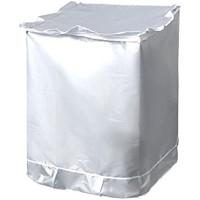 Vorcool Schutzbezug für Waschmaschinen/Trockner silberfarben
