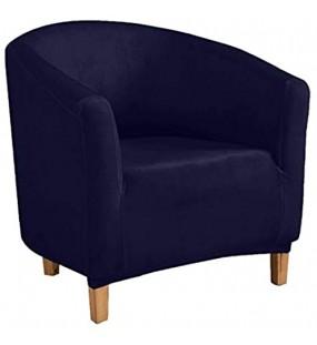 HALOUK Stretch Sesselschoner Sesselüberwurf Sesselbezug Sesselhusse Elastisch Stretch Sesselbezug für Clubsessel Loungesessel-H