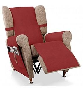 JM Textil Sesselschoner Relax GEA Größe 1 Sitzer 55 cm Farbe Rot