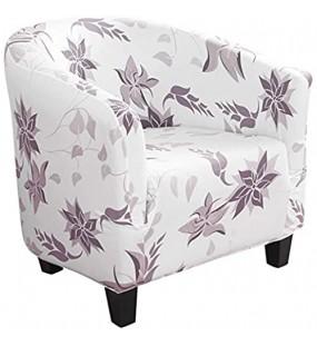 SearchI Sesselschoner Sesselüberwurf Jacquard Sesselbezug Sesselhusse Elastisch Stretch Sesselbezug für Clubsessel Loungesessel