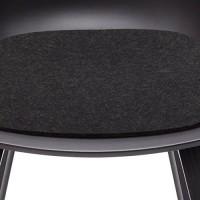Hey Sign About a Chair Sitzauflage Schurwolle Graphit 08AR 39x37x0 5 cm