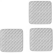 HomeDecTime Sitzauflage Inkontinenzunterlage Inkontinenzauflage Krankenunterlagen 53 x 56cm waschbar Unterlagen 3er Pack