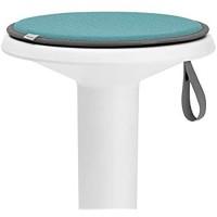Interstuhl® UPis1 Premium Sitzkissen - Besonders bequemes Stuhlkissen perfekt geeignet für Hocker Stühle Bänke und Fußböden Standard Edition Pastelltürkis