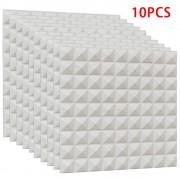 10 Pcs Schaum 3D Ziegel Wand Aufkleber Selbst Adhesive DIY Tapete Fliesen Wand Aufkleber für Panel Hintergrund Schlafzimmer Decor Wandaufkleber