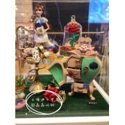 100% authentische Disney Shanghai Einkaufen Schönheit und Das Biest Belle Prinzessin Kerze Halter Kleiderschrank Wand Aufkleber Wandaufkleber