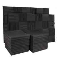 50Pcs 12 Slot Feuer Hemmende Schallschutz Baumwolle Sound Absorbierende Baumwolle Ei Baumwolle Sound Absorbieren Wand Panel Wandaufkleber