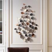 Europäischen Schmiedeeisen Wand Hängen Blumen Wand Dekoration Handwerk Kreative Heimat Wohnzimmer Anhänger 3D Stereo Wand Aufkleber Wandbild Wandaufkleber