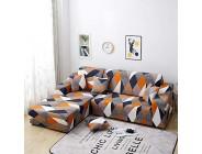 Vertvie L-Form elastische Sofabezug Stretch Corner Sofaüberwürfe Sofa Abdeckung mit Armlehnen Antirutsch Abwaschbar Moderner Sofahusse 1 Sitzer+2 Sitzer