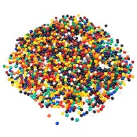 eBoot Blumen-Wasserperlen Gel-Erde Wasser Kristallperlen Gelee Wasserperlen Vasenfüller 20000 Packungen mehrfarbig