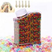 Supersun 55000 Stück Wassergel-Kugeln Gel-Perlen für Vasen Dekoration Pflanzen Blumen gemischte Kristalle Home Dekoration