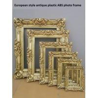 Antike Gold Foto Rahmen Kunststoff ABS Bild Rahmen Hochzeit Dekoration Mode Verheiratet Requisiten Liefert fashion photo frames photo framegold photo frame