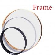 Ära Runde Aluminium Rahmen Für Leinwand Malerei Bild Bieten DIY Wand Foto Rahmen Poster Rahmen Wand Kunst Handwerk Rahmen Kunst aufhänger Rahmen