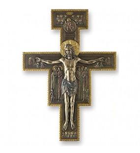 The San Damiano Kruzifix Kreuz Wandschild Skulptur 38 1 cm