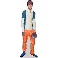 Celebrity Cutouts Lil Peep Orange Trousers Pappaufsteller lebensgross