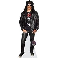 Celebrity Cutouts Slash Leather Pappaufsteller lebensgross