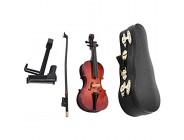 KIKYO Miniatur Cello 5 5 Zoll Holz Musikalisches Modell Hochwertige Kunsthandwerk Instrument Ornamente für perfekte Weihnachts- und Geburtstagsgeschenk