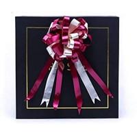 LXHANSPF-lead 4 5 cm Band Pull Flower 20Pcs / Lot Zweifarbige Butterfly Knot Ball Flower Weihnachtsgeschenkverpackung Hochzeitsfeier Dekoration