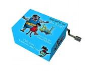 Fridolin 58356 Spieluhr Jim Knopf - Lummerlandlied blau