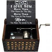 Lastsummer You are My Sunshine Spieluhr - Geschenk für Mama - 1 Set schwarz