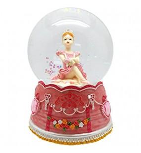 Spieluhrenwelt MMM GmbH 857753 Spieluhr Glitzerkugel sitzende Ballerina