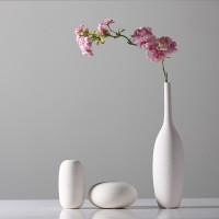 Home Dekorationen Einfache Keramik Moderne Porzellan Trockenen Vase Dekoration Tisch Blume Vase Mini Figurine Desktop Handwerk Vasen