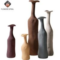 Nordic Moderne Keramik Kunst Vase, Morandi Farbe Kreative Vase, Home Dekoration Von Esstisch Und TV Schrank, souvenir Geschenk Vasen