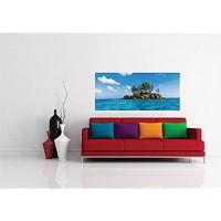 AG Design Selbstklebende Bordüre 0 14 x 5 m Papier Fototapete 202x90 cm-1 Teil Insel Folie Colorful 202 x 90 cm