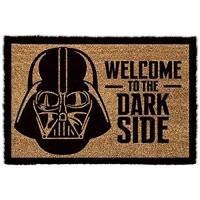1art1 Star Wars - Darth Vader Willkommen Auf Der Dunklen Seite Fußmatte Innenbereich und Außenbereich   Design Türmatte 60 x 40 cm