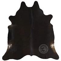 Sunshine Cowhides Teppich aus Kuhfell Farbe: Dunkler Ton Größe Circa 220 x 200 cm Premium - Qualität von Pieles del Sol aus Spanien