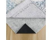 MAYSHINE Dicke rutschfeste Teppichmatte Vliesstoff für harte Böden für Läufer hält sicher und an Ort und Stelle für Teppiche 152 x 201 cm