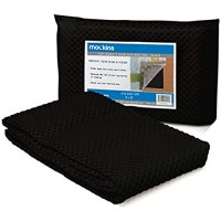 Mockins Black Premium Grip and Non Slip Rug Pad 8 x 10 Area Rug Pad Keeps Your Area Rugs Protected and in Place On Any Hard Floors Or Hard Surfaces