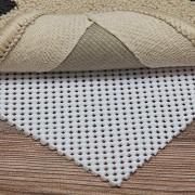 TINGLU Rutschfestes Teppich-Pad 6 4 x 2 4 m extra dick für alle harten Böden halten Sie Ihre Teppiche sicher und an Ort und Stelle.