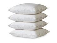 Apiando 4er Set Vlies Kissen 45 x 45 cm – Premium Qualität Allergiker geeignet Waschbar 60 Grad - Füllung für Dekokissen Innenkissen Sofakissen Inlettkissen