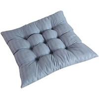 Vikenner stuhlkissen 40 * 40CM stuhlauflage sitzkissen sitzpolster sitzkissen Stuhl Polyesterfaser Grauer Streifen