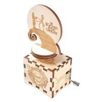 Der Albtraum Vor Weihnachten Musik Box Handkurbel Musical Box Geschnitzte Holz Musical Geschenke Halloween Musical Geschenk Musikboxen