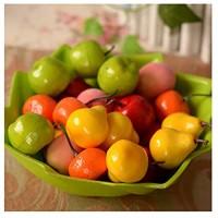 LINMAN 10 Teile/dekorative Simulation Mini Fruit Mini Requisiten gefälschte Apfel erdbeer lebensechte gefälschte Obst Dekoration künstliche Frucht