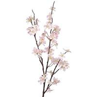 artplants.de Set 5 x Deko Apfelblütenzweig rosa - weiß 85cm - Kunstblumen/Künstlicher Zweig