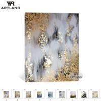 Weihnachten wand dekorationen gold gemälde für home Handgemachte ölgemälde auf leinwand bilder an der wand für wohnzimmer schlafzimmer Malerei und Kalligraphie