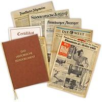Zeitung vom Tag der Geburt 1977 - historische Zeitung inkl. Mappe & Zertifikat als Geschenkidee