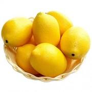 Empty Leere 6/10 PCS Blasensimulation Gefälschte Zitronenfrüchte Künstliches Gemüse Obst Modellhaus Küchenparty Inneneinrichtung Obst 10 Stück Gelb
